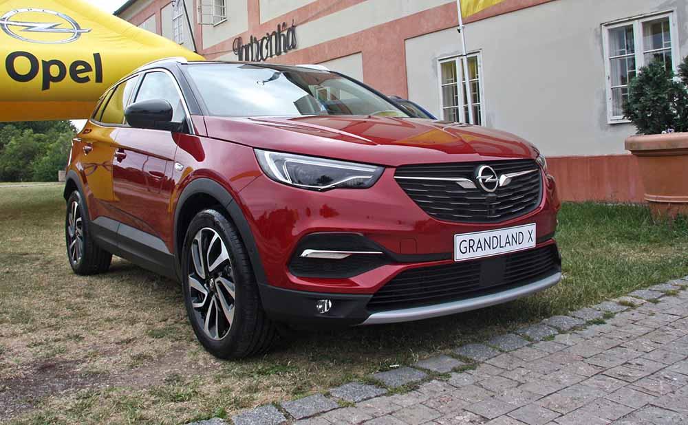 Новый Opel Grandland X