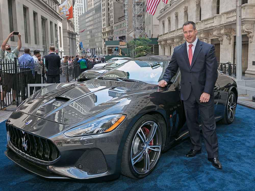 На премьере Maserati GranTurismo