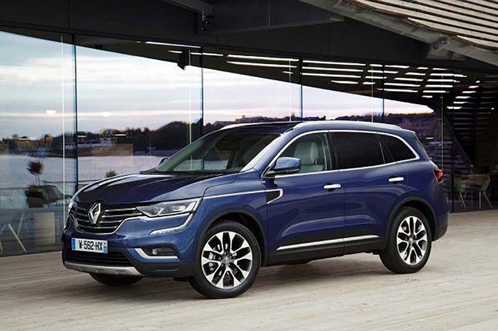 Renault Koleos версии 2017 года