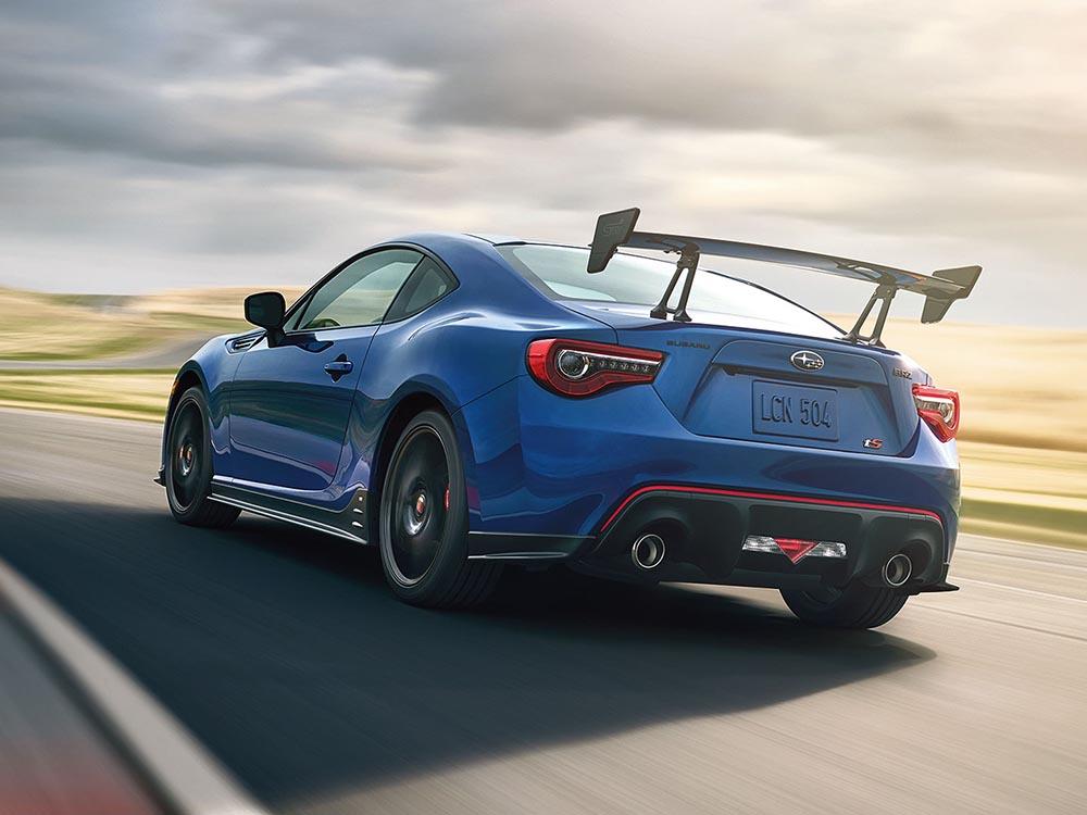 Новый Subaru BRZ tS