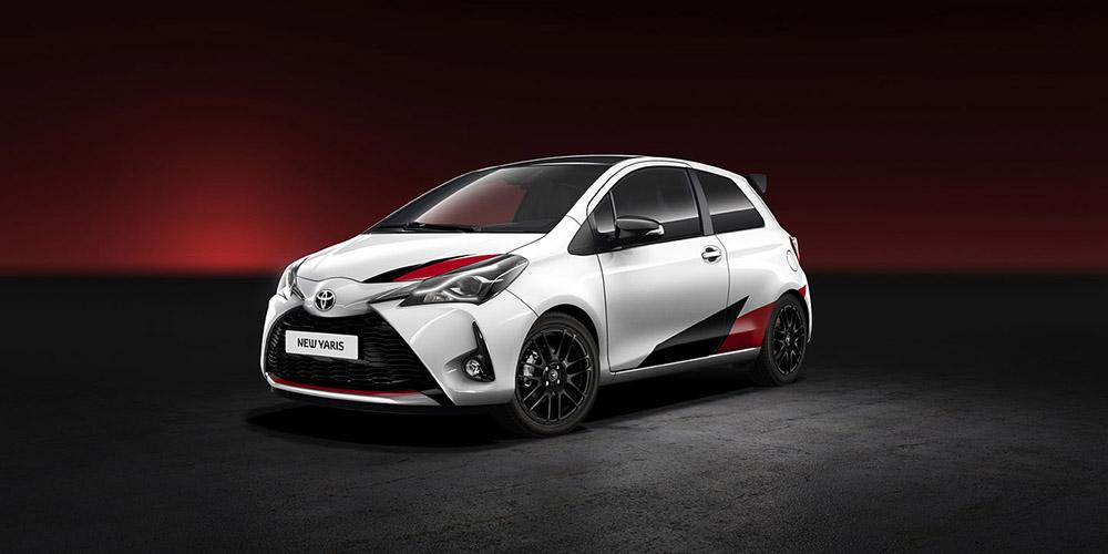 Новая Toyota Yaris GRMN