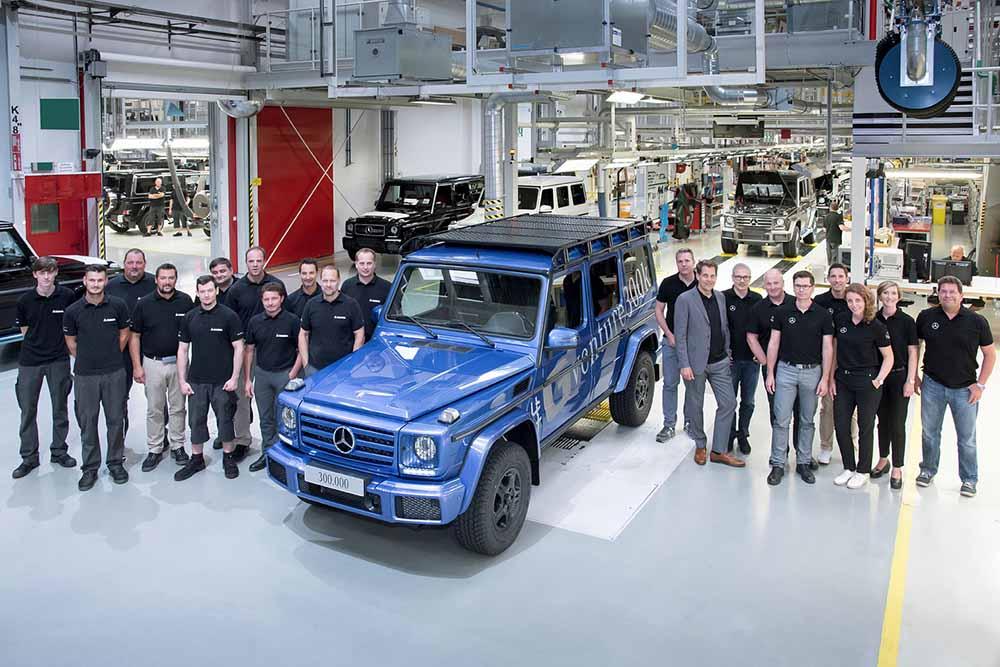 300-тысячный Mercedes-Benz G-класса