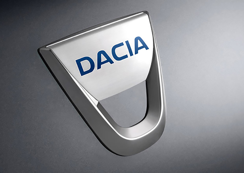 Эмблема бренда Dacia