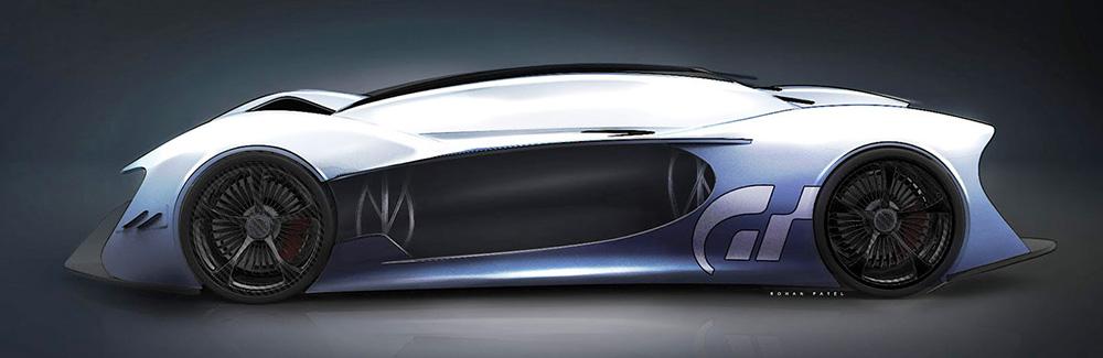 McLaren P15 сбоку