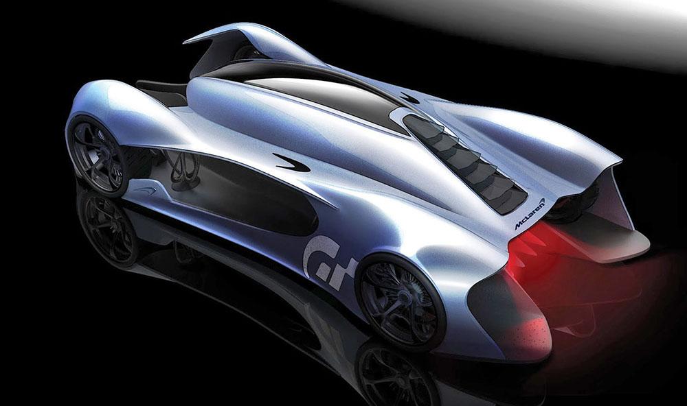 McLaren P15 сзади