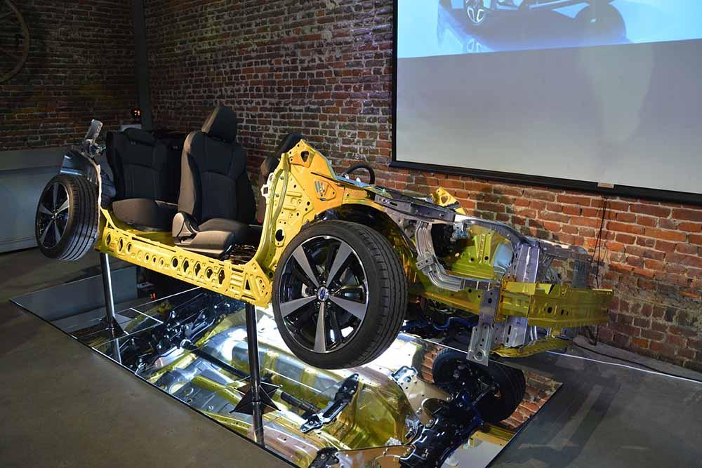 Новая платформа автомобилей Subaru