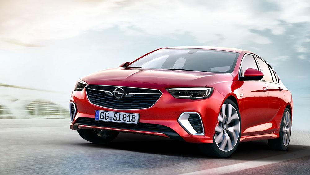 Новый Opel Insignia GSi