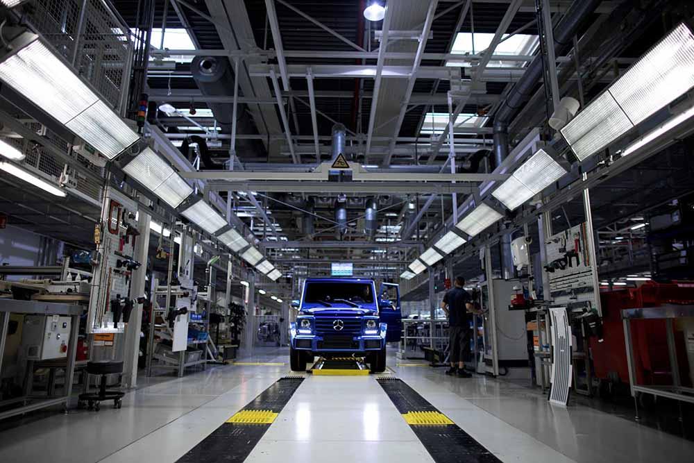 Юбилейный Mercedes-Benz G-класса сходит с конвейера