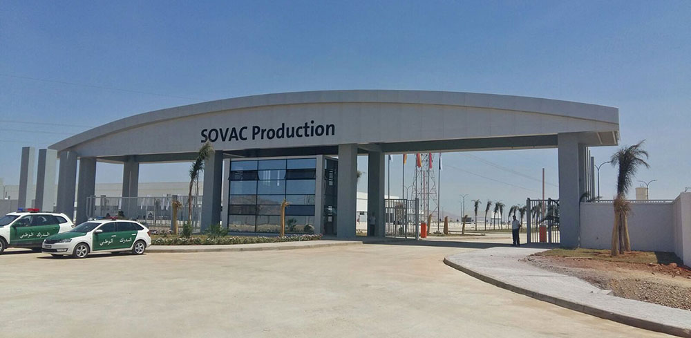Завод компании SOVAC