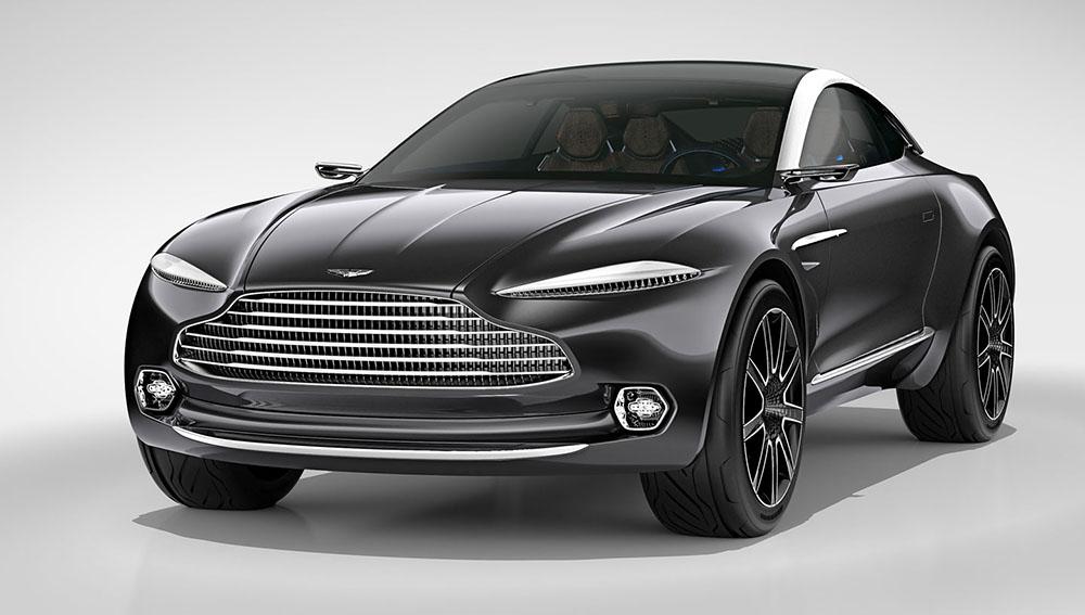 Кроссовер Aston Martin