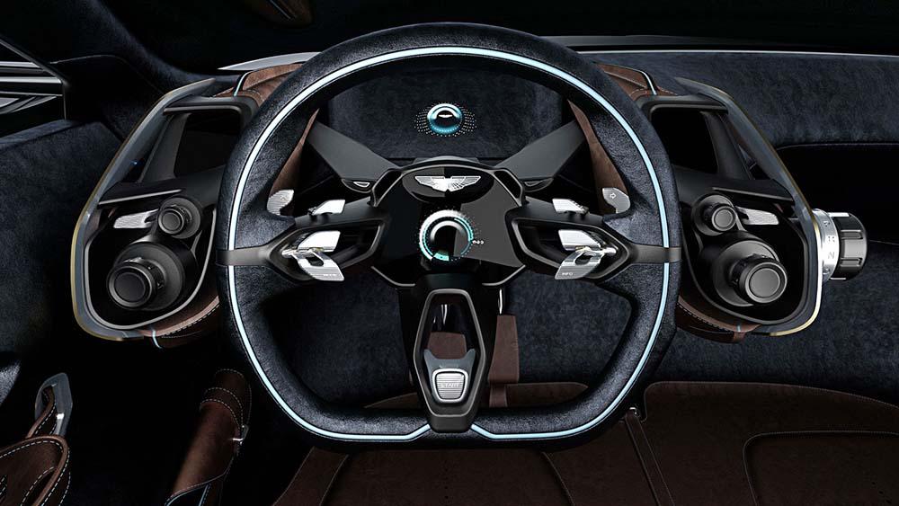 Рулевое колесо, панель приборов