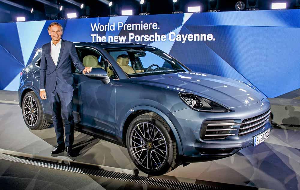 Новый Porsche Cayenne: мировая премьера