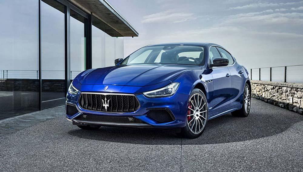 Обновлённый Maserati Ghibli