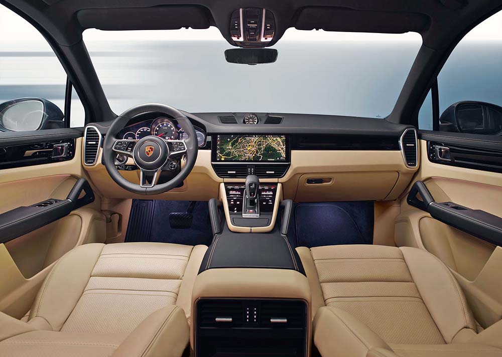 Редизайн салона автомобиля Porsche Cayenne
