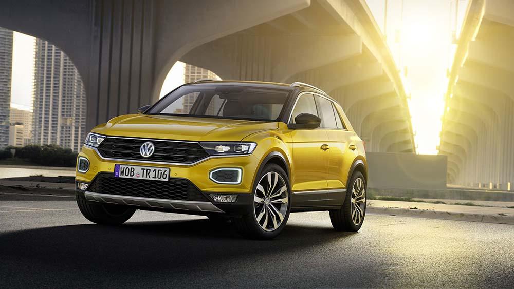 Volkswagen T-Roc весьма динамичный
