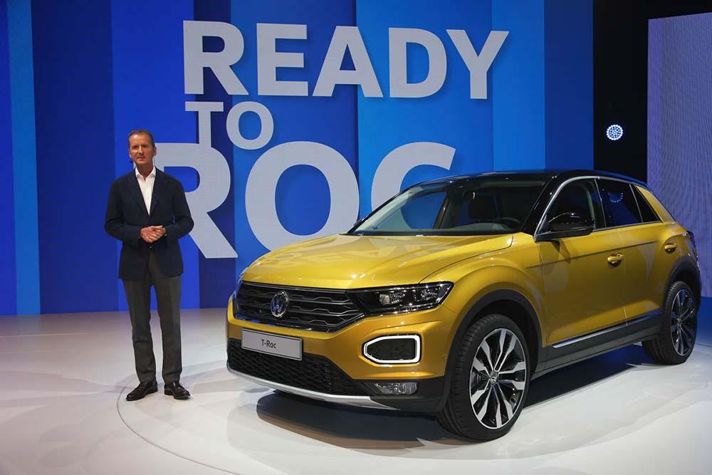 Volkswagen T-Roc представлен