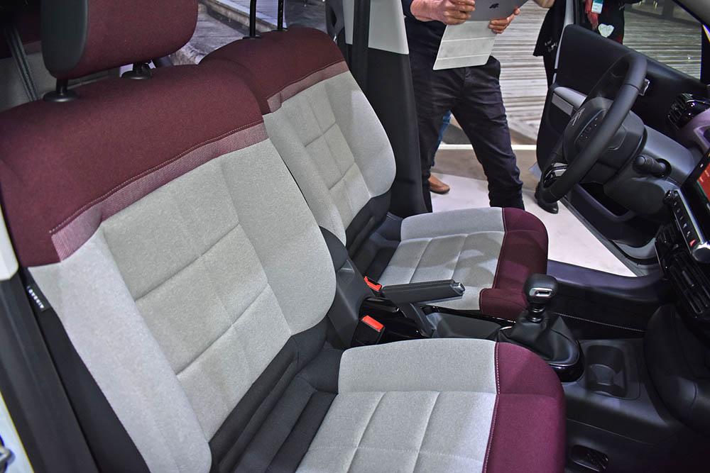 Комфортабельные сидения просто идеальны