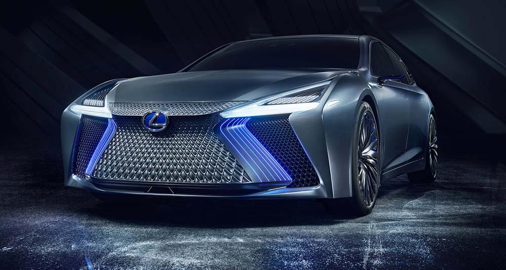 Концепт Lexus LS+