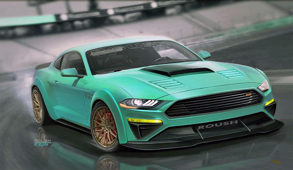 Купе Roush Mustang