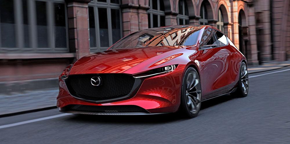 Mazda Kai на улицах города