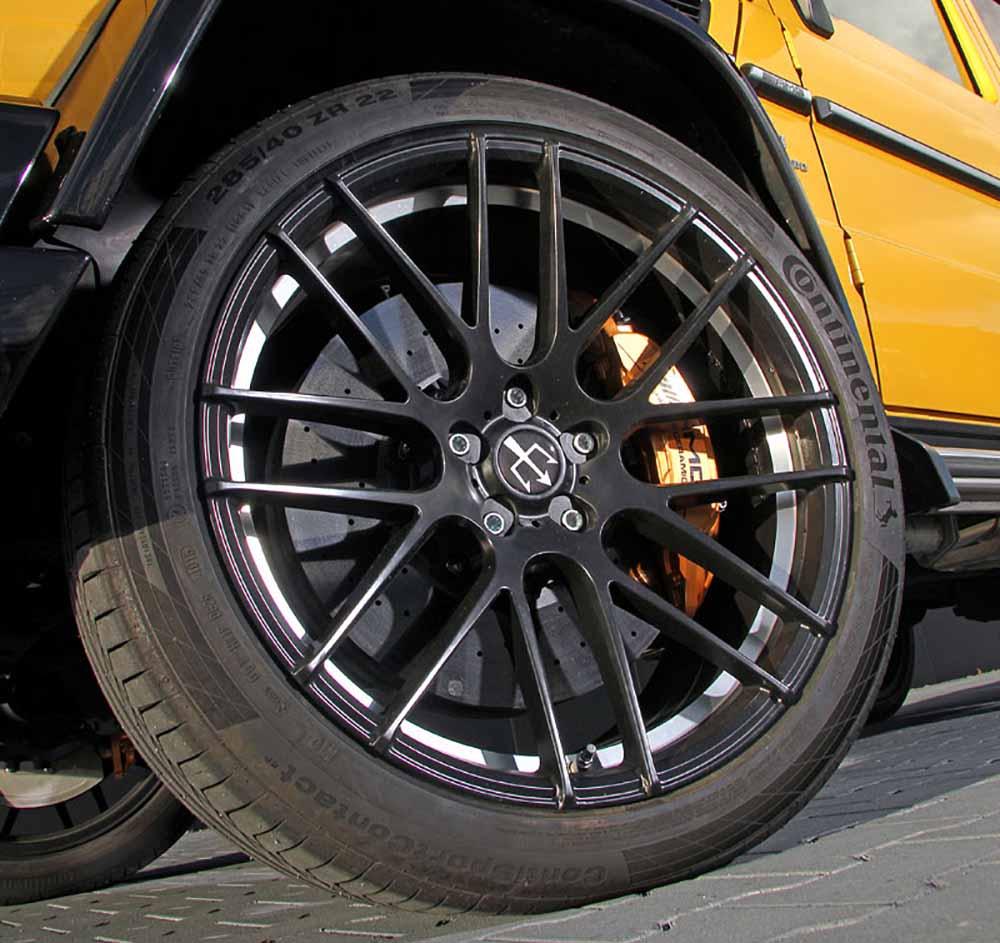 Новые 22-дюймовые колёса