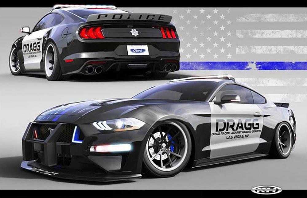 Полицейское авто от DRAGG
