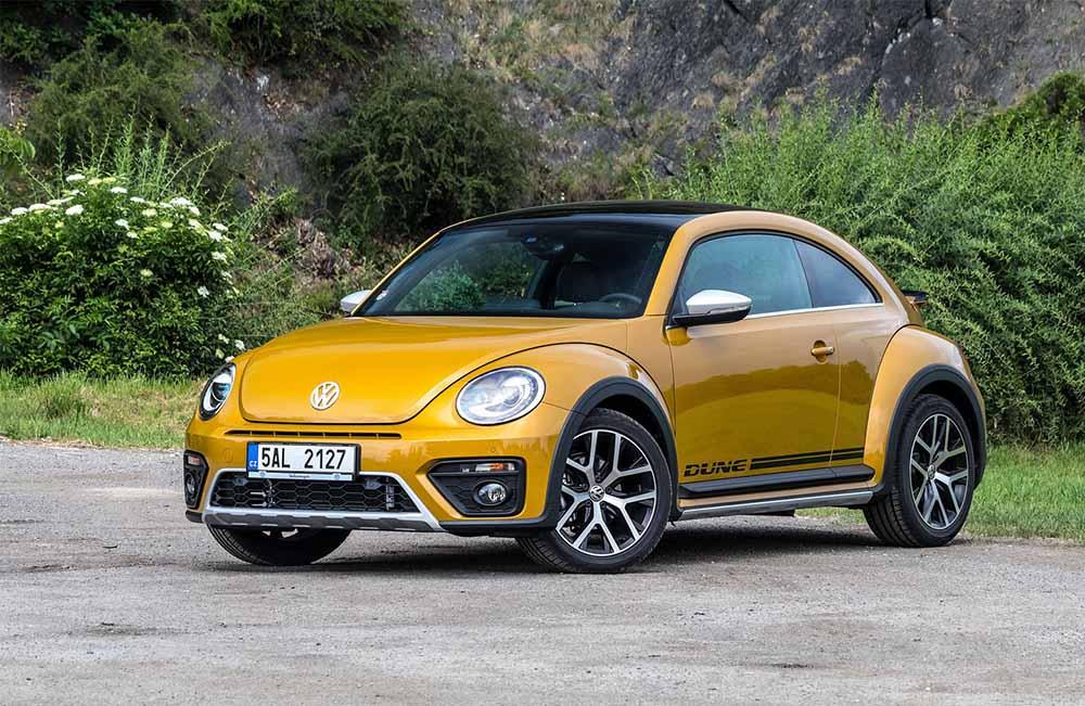 Современное поколение Volkswagen Beetle Dune