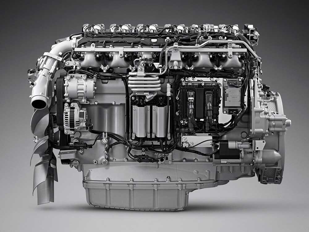13-литровый двигатель Скания
