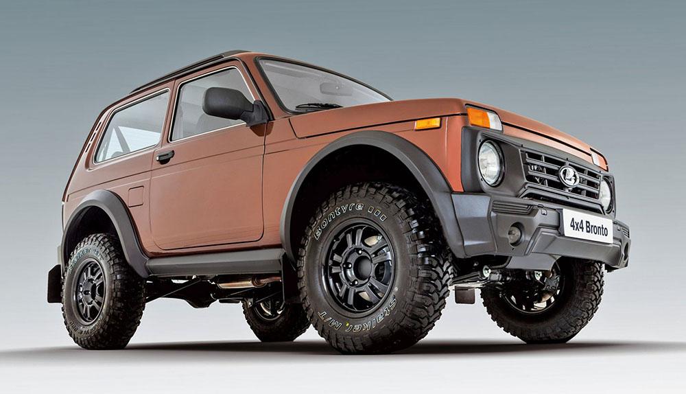 Тюгинг-версия Lada 4×4 Bronto