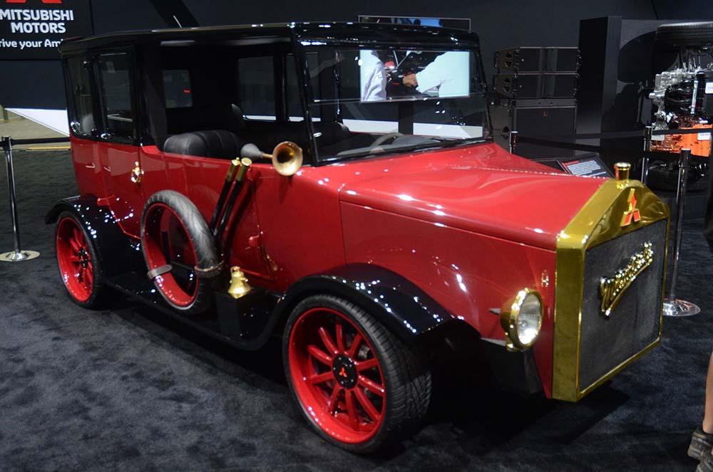 Редизайн Mitsubishi Model A 1917 года