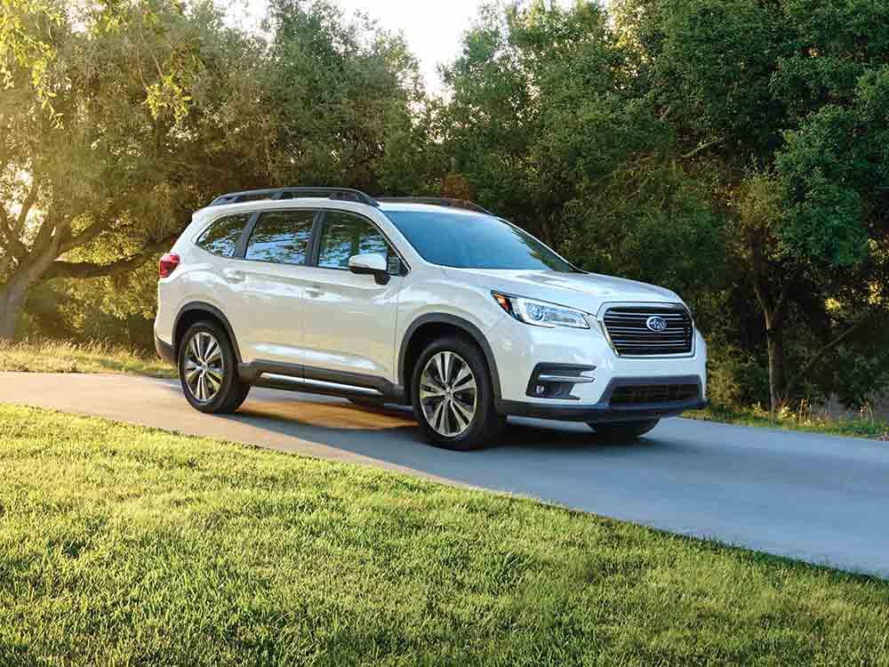 Полностью новый трёхрядный Subaru Ascent