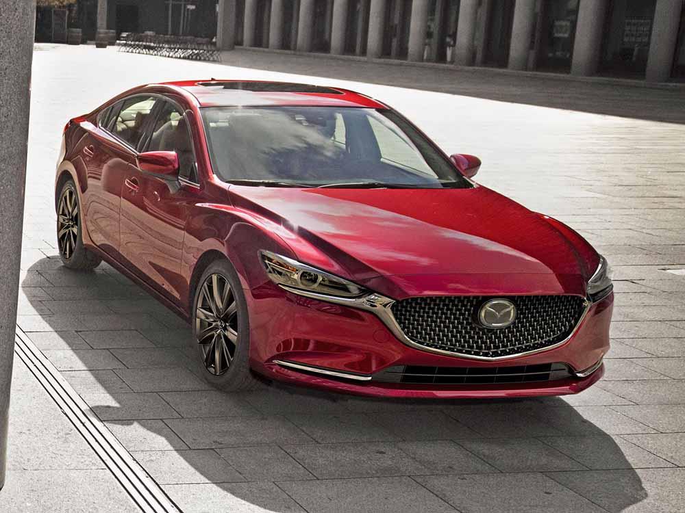Обновлённая Mazda 6
