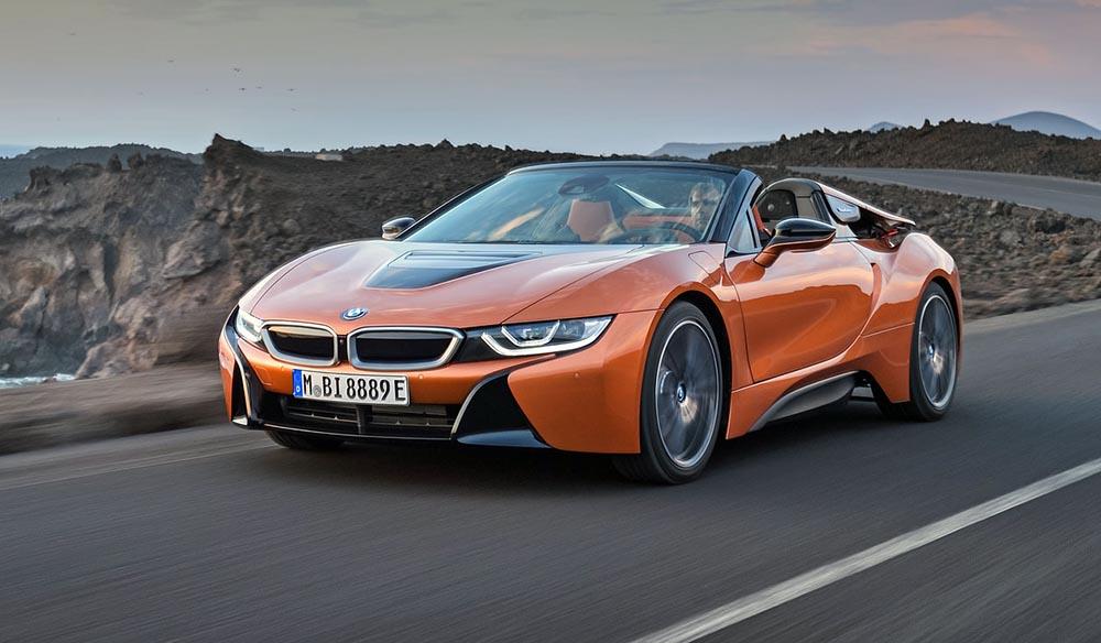 Родстер BMW i8