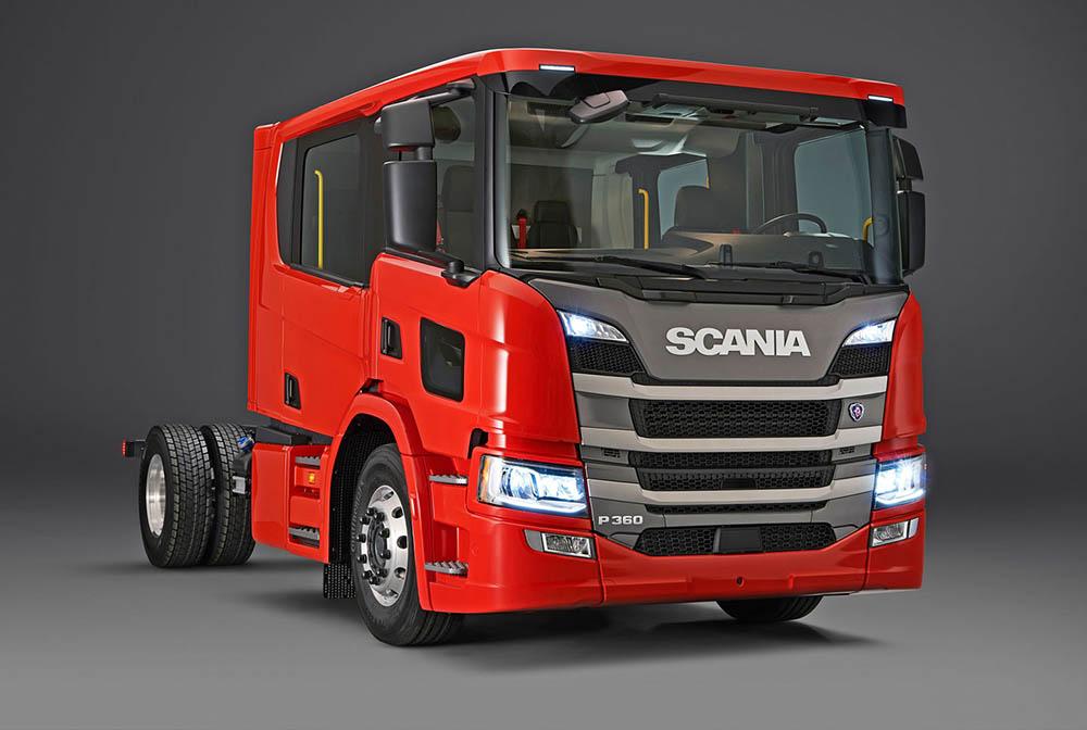 Scania P 360 4×2 CrewCab