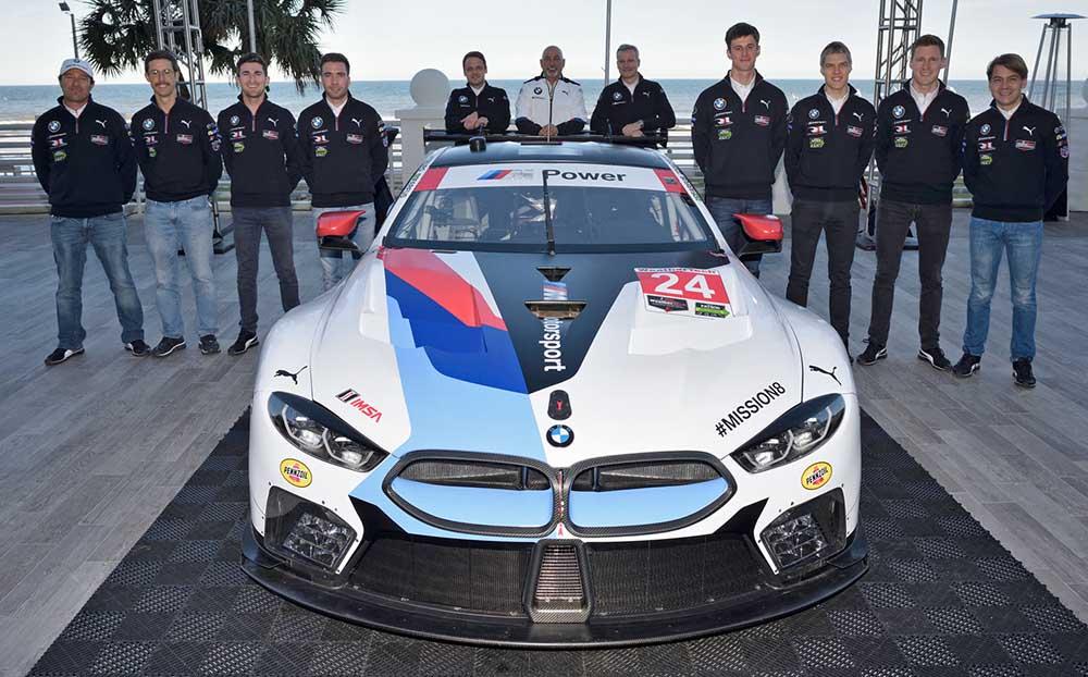 BMW M8 GTE готов к первой гонке