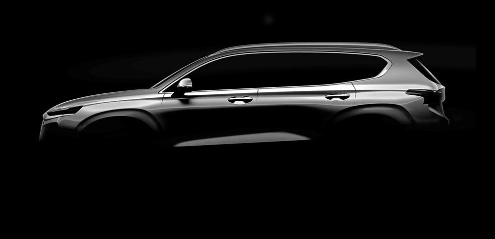 Предстоящий Hyundai Santa Fe четвёртого поколения