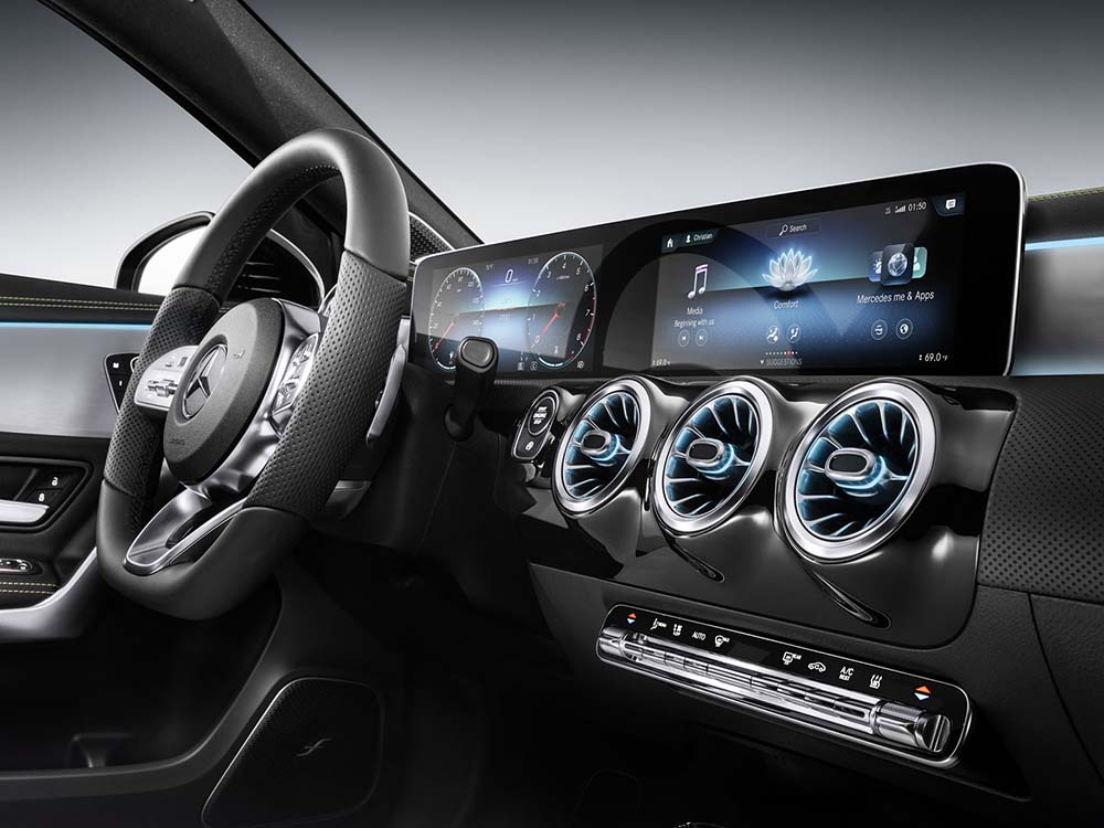 Мультимедийная система Mercedes MBUX