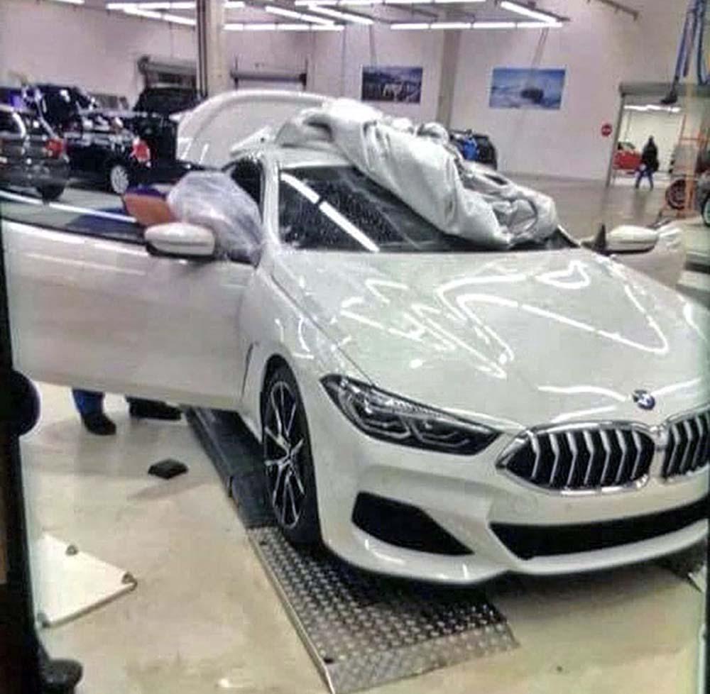 Новый BMW 8
