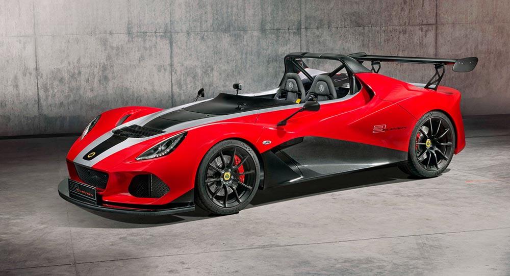 Новый Lotus 3-Eleven 430