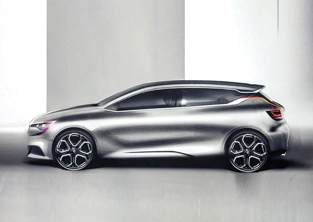 Автомобиль компании Renault