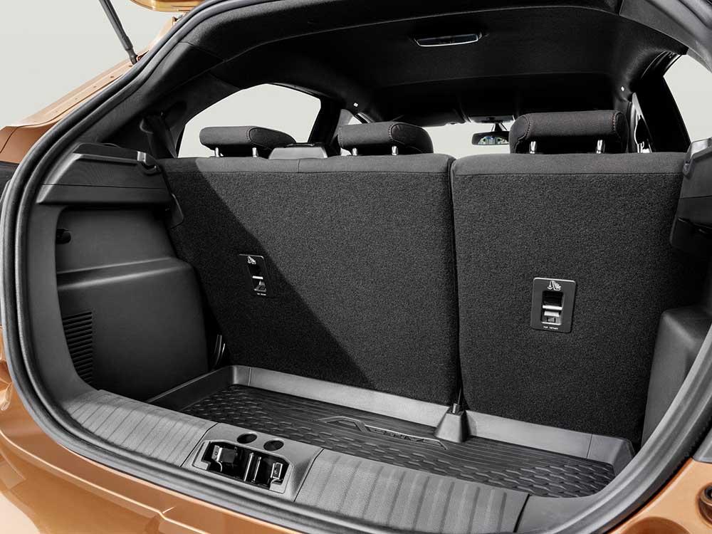 Багажное отделение хэтчбека Ford Ka+