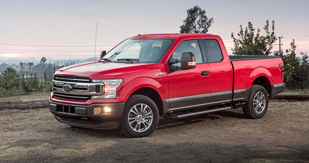 Ford F-150 может ездить на любом топливе