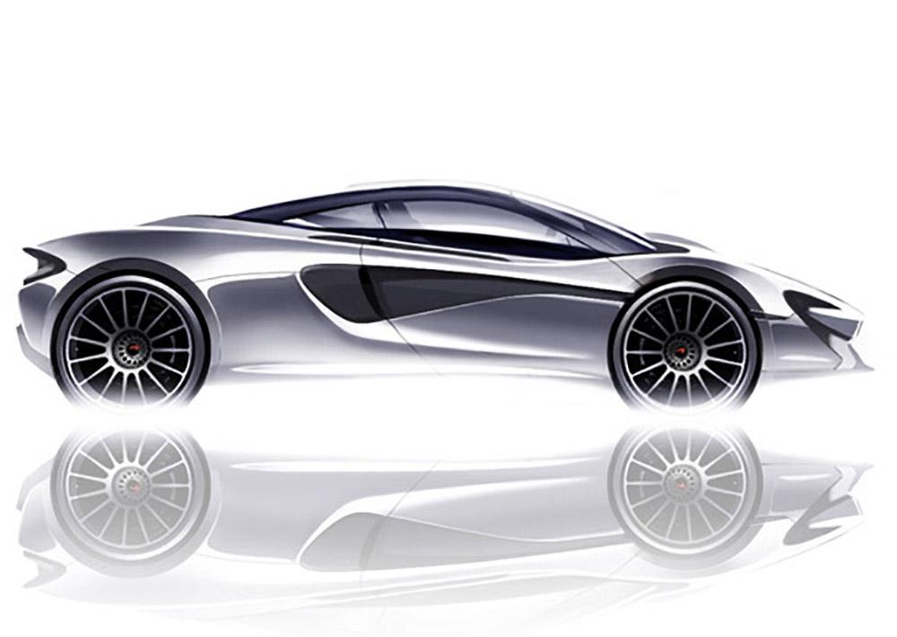 Новый дизайн McLaren