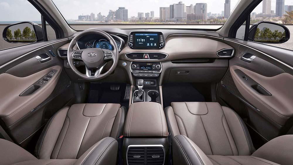 Салон автомобиля нового поколения