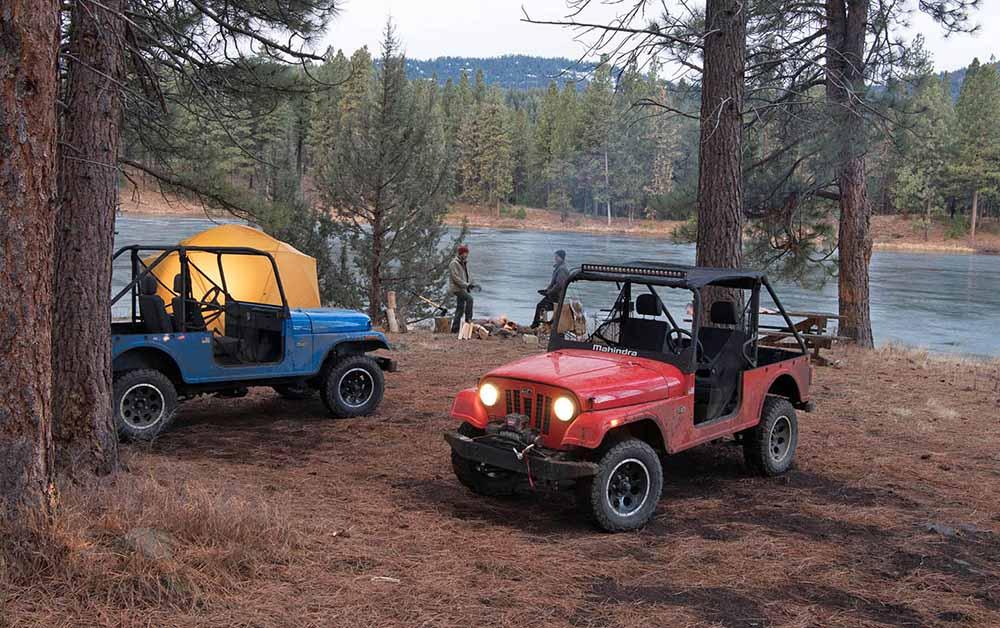 Новинка повторяет классический стиль внедорожников Jeep CJ