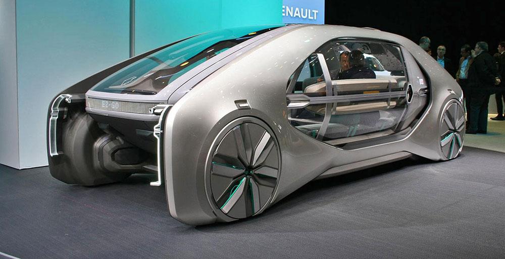 Концепт Renault EZ-GO