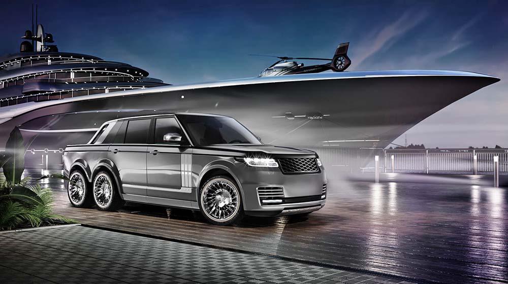 Автомобиль задуман как дополнение к большой яхте