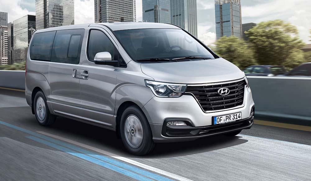 Новый дизайн Hyundai H-1