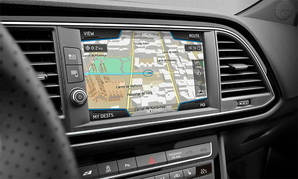 Навигация с сенсорным экраном