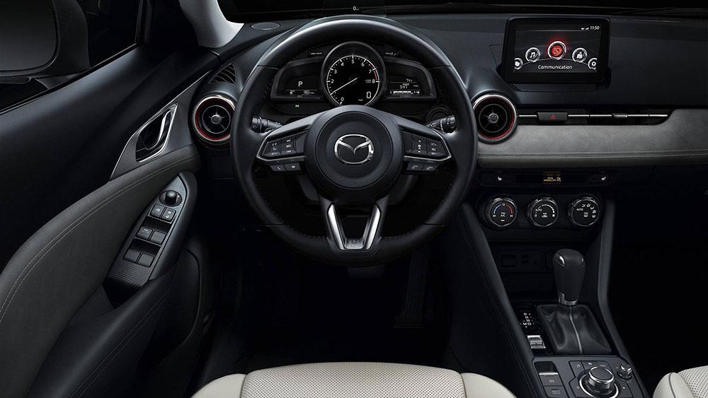 Доска приборов, рулевое управление